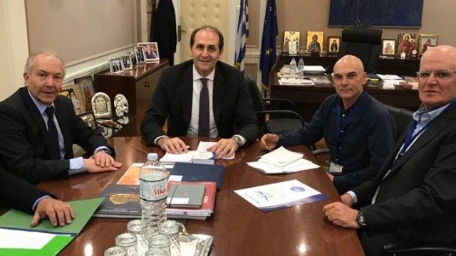 Συνάντηση  Πανελλήνιου με τον Υφυπουργό Οικονομικών, κ. Απόστολο Βεσυρόπουλο