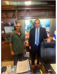 Λεπτομέρειες της  συνάντησης του Πανελλήνιου W.A.G με τον Υπουργό κ. Ι.Πλακιωτάκη
